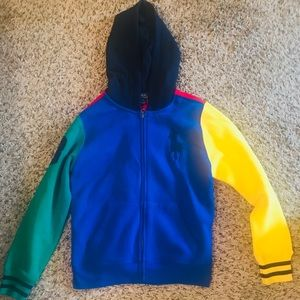 Polo Ralph Lauren hoodie jacket  size medium